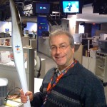 Ely Bonder with Olympic Torch