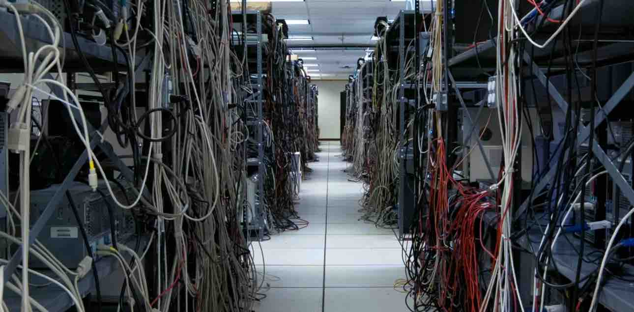 Image of a server room